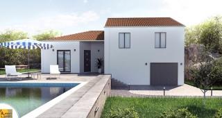 Maison demi niveau solara moderne