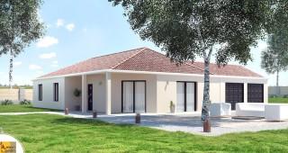 maison contemporaine en L Elena2
