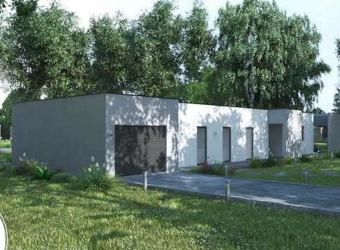 plan  modele contemporain maison et jardin linea _2