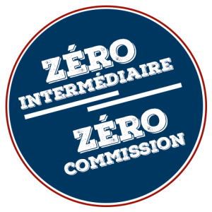 Zéro intermédiaire- Zéro commission