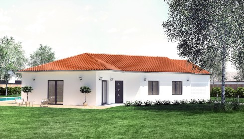 Maison traditionnelle plans et mod les for Plan de maison traditionnelle gratuit