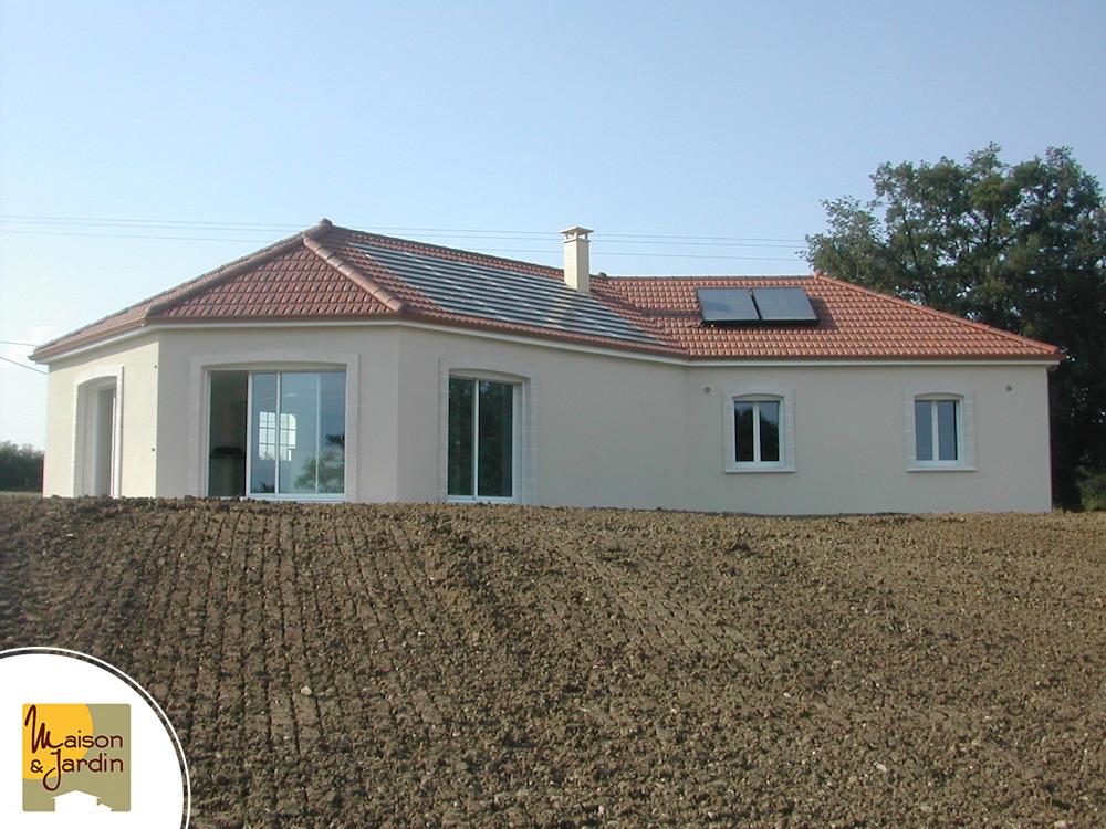 Photos de maisons neuves bbc en auvergne - Prix panneau solaire pour maison ...
