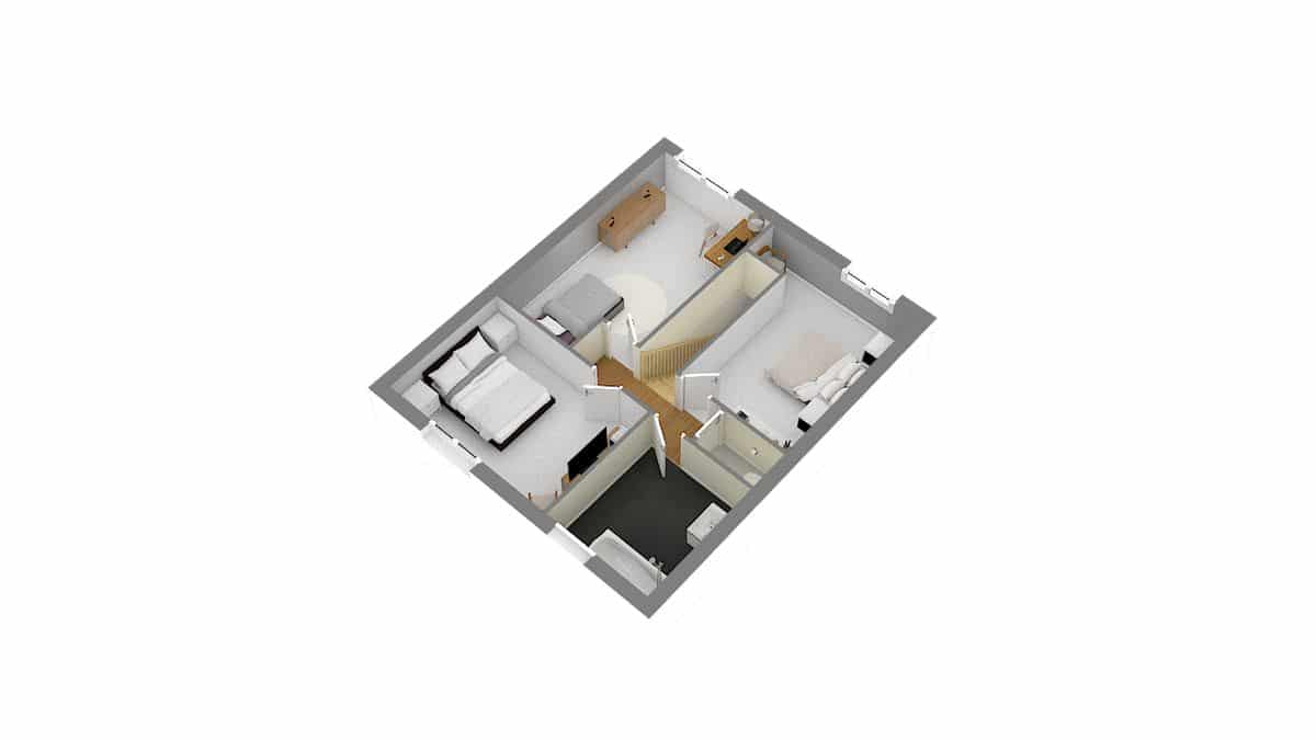Modèle maison Tamara-Etage