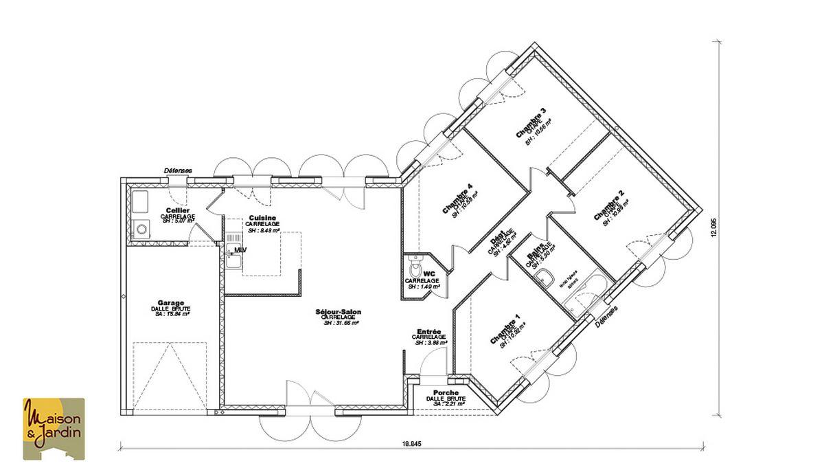 Epingle Sur Plans Maisons