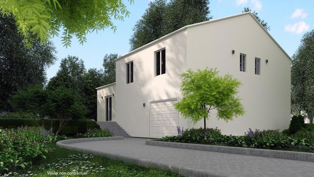 Visuel 3D maison neuve