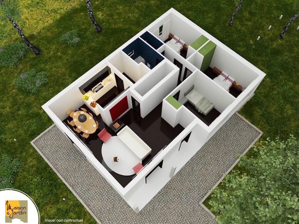 axo plan 3D Cléa 3 PP
