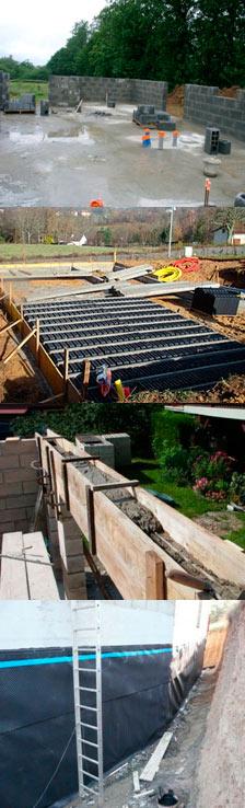 murs et matériaux de construction