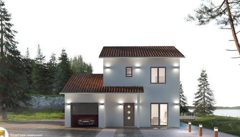 Maison traditionnelle plans et mod les for Maison avec une tour