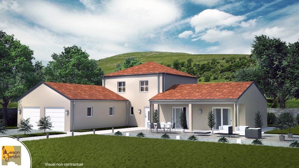 Victoria maison familiale avec tour centrale et plan en l for Maison avec angle casse