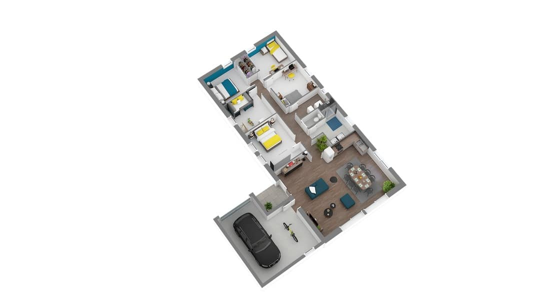 CArisma maison contemporaine de plain pied (1)