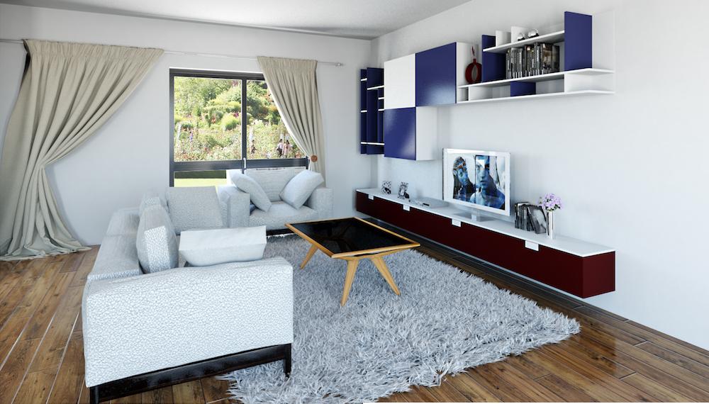 Maison moderne focus for Voir interieur de maison