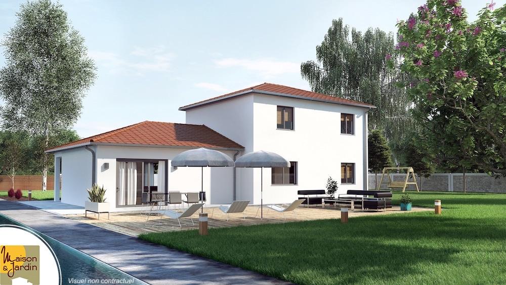 maison et jardin constructeur de maison en auvergne. Black Bedroom Furniture Sets. Home Design Ideas