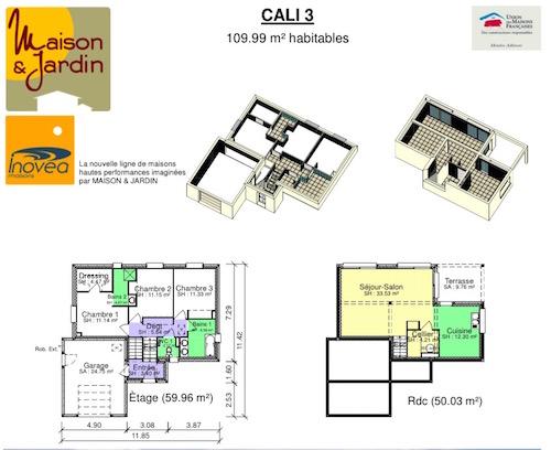 Plan maison cali 3