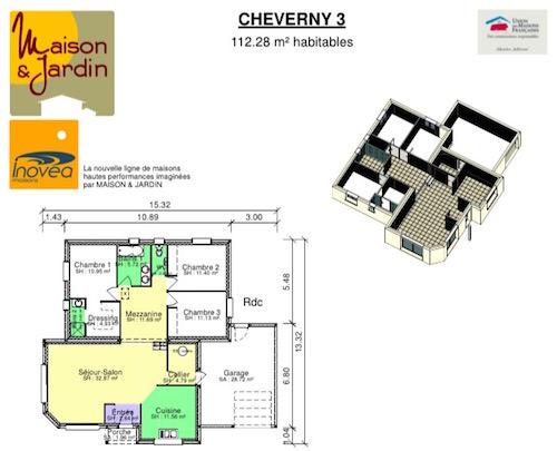 Plan maison cherverny 3