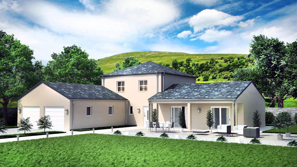 Victoria Maison Familiale Avec Tour Centrale Et Plan En L