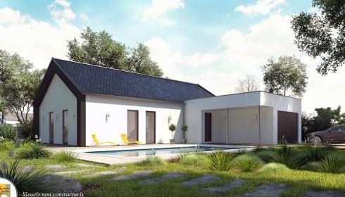 Maisons moderne d couvrez nos plans et mod les for Constructeur maison contemporaine auvergne
