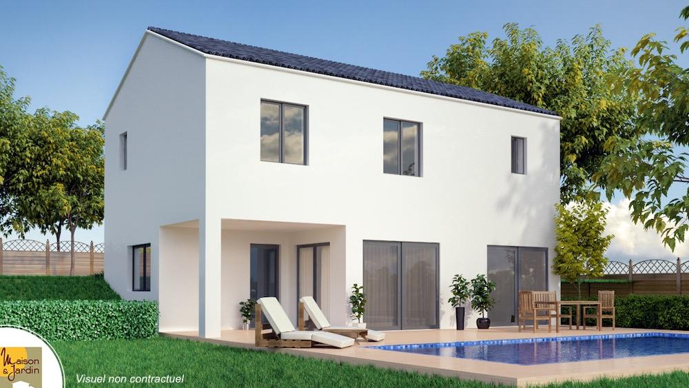 Cali maison contemporaine 2 niveaux avec une terrasse for Site pour plan de maison