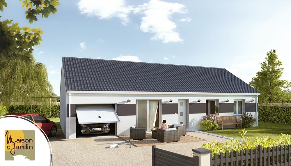 Maison moderne focus for Construire maison 91