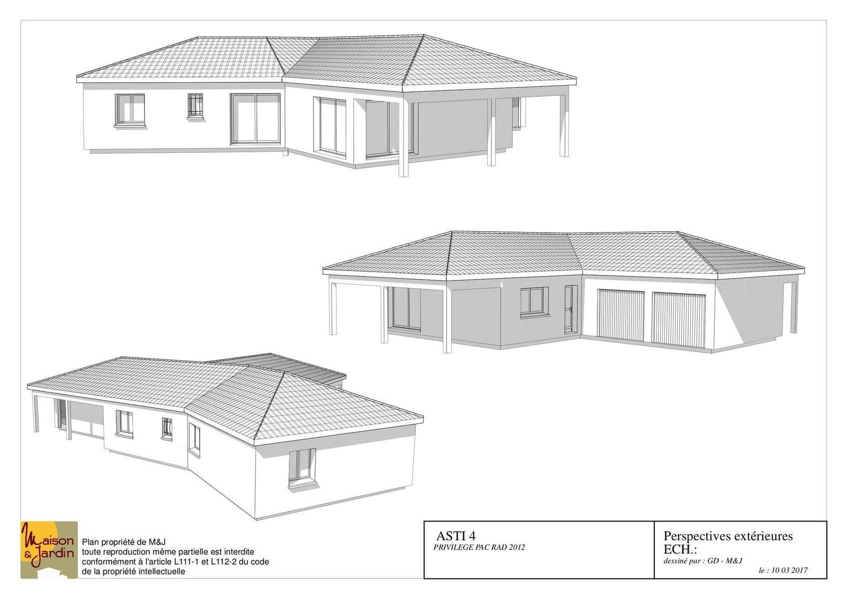 plan maison asti135perspective