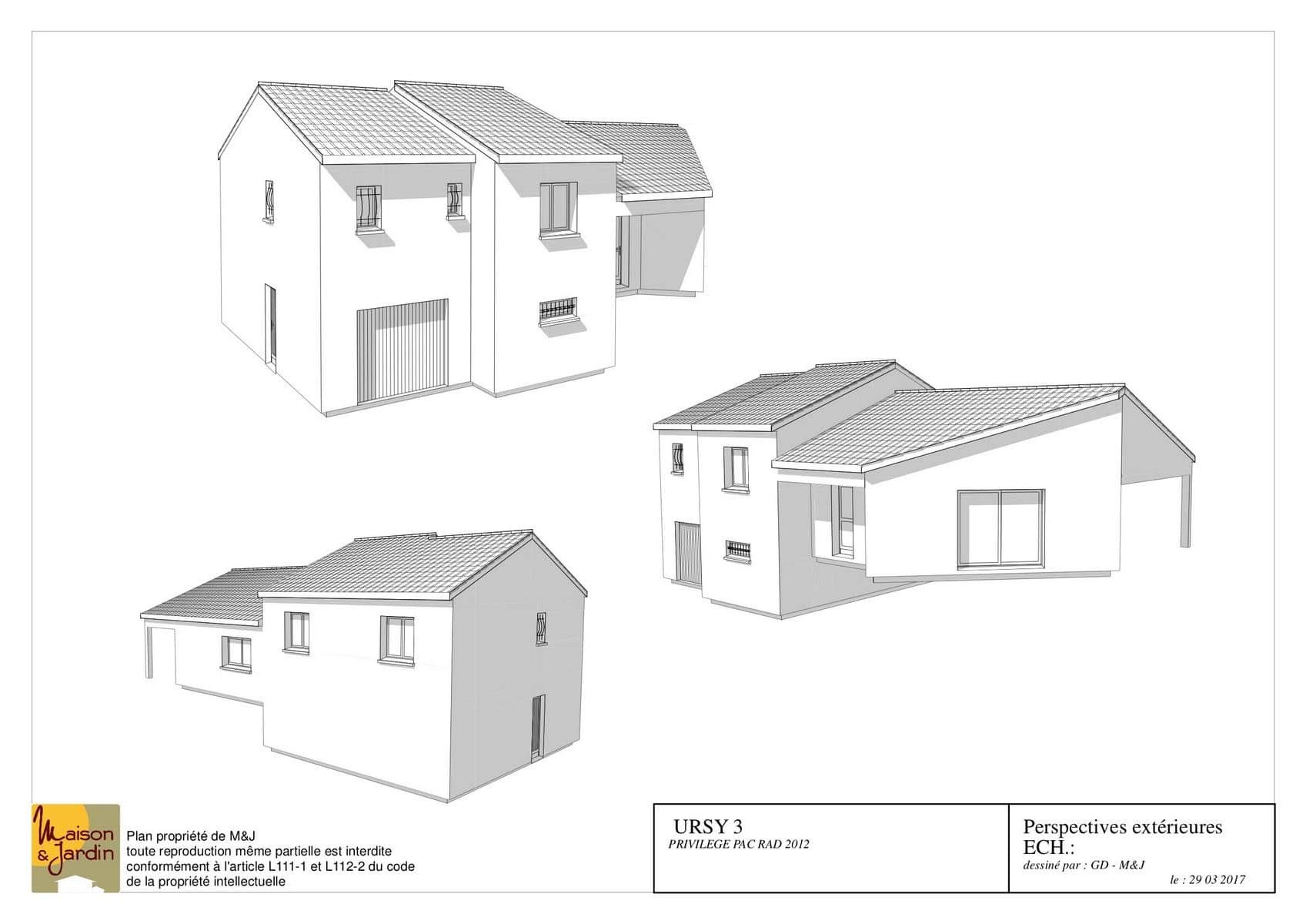 plan maison ursy117perspective