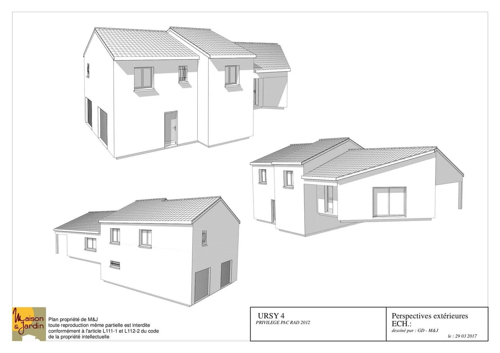 plan maison ursy128perspective