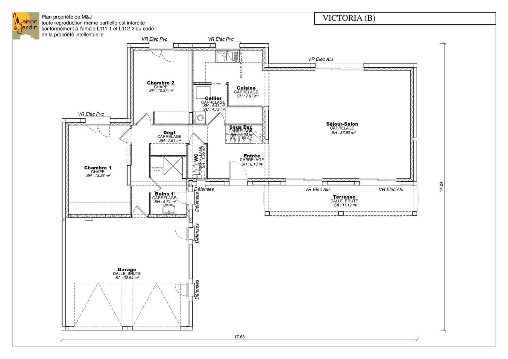Plan Maison 130 M Avec 4 Chambres Ooreka 2
