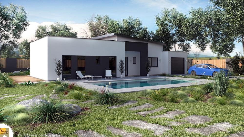 Maison moderne verso - Plan maison bois contemporaine ...
