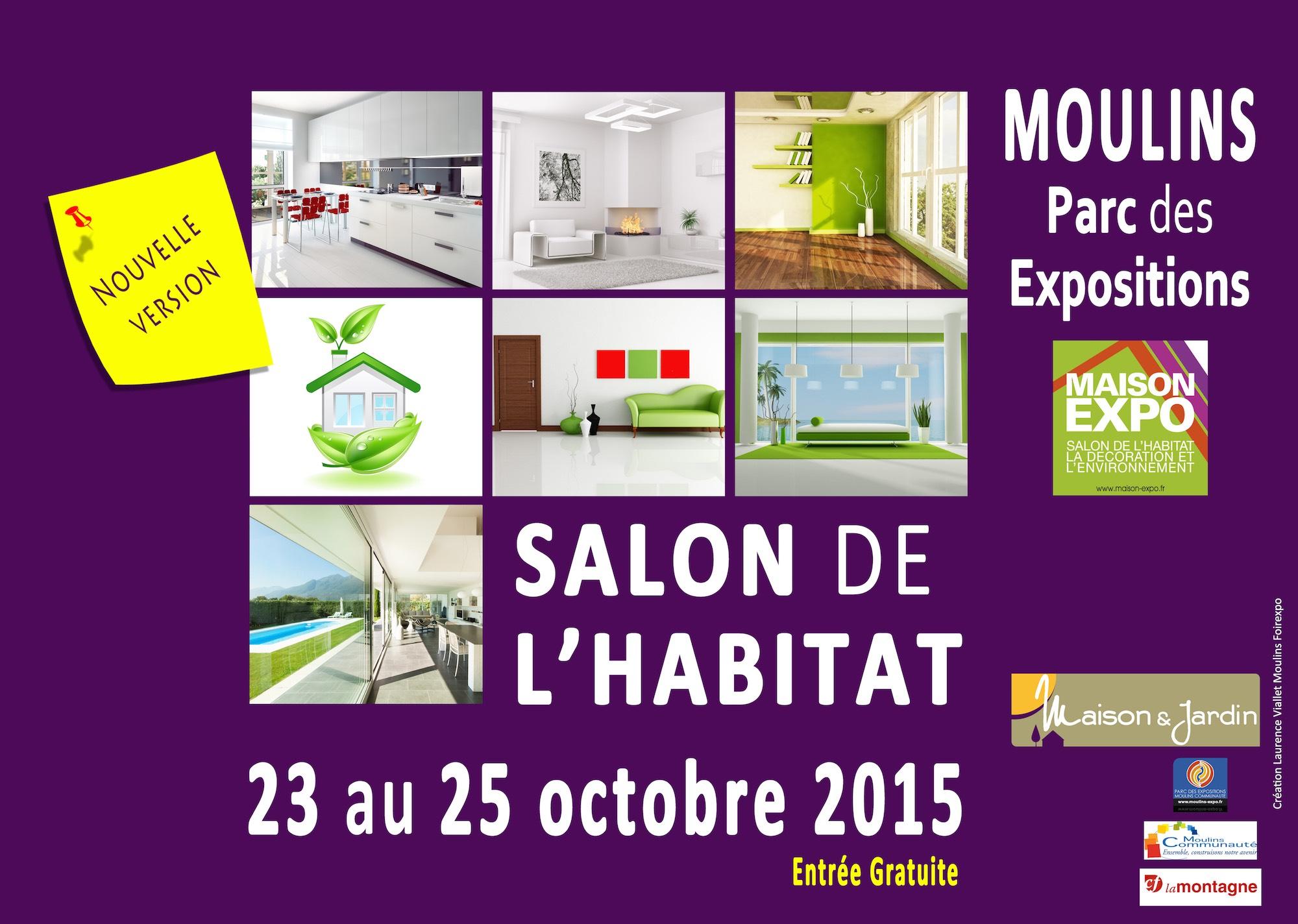 Salon habitat moulins 2015 for Habitat jardin 2015