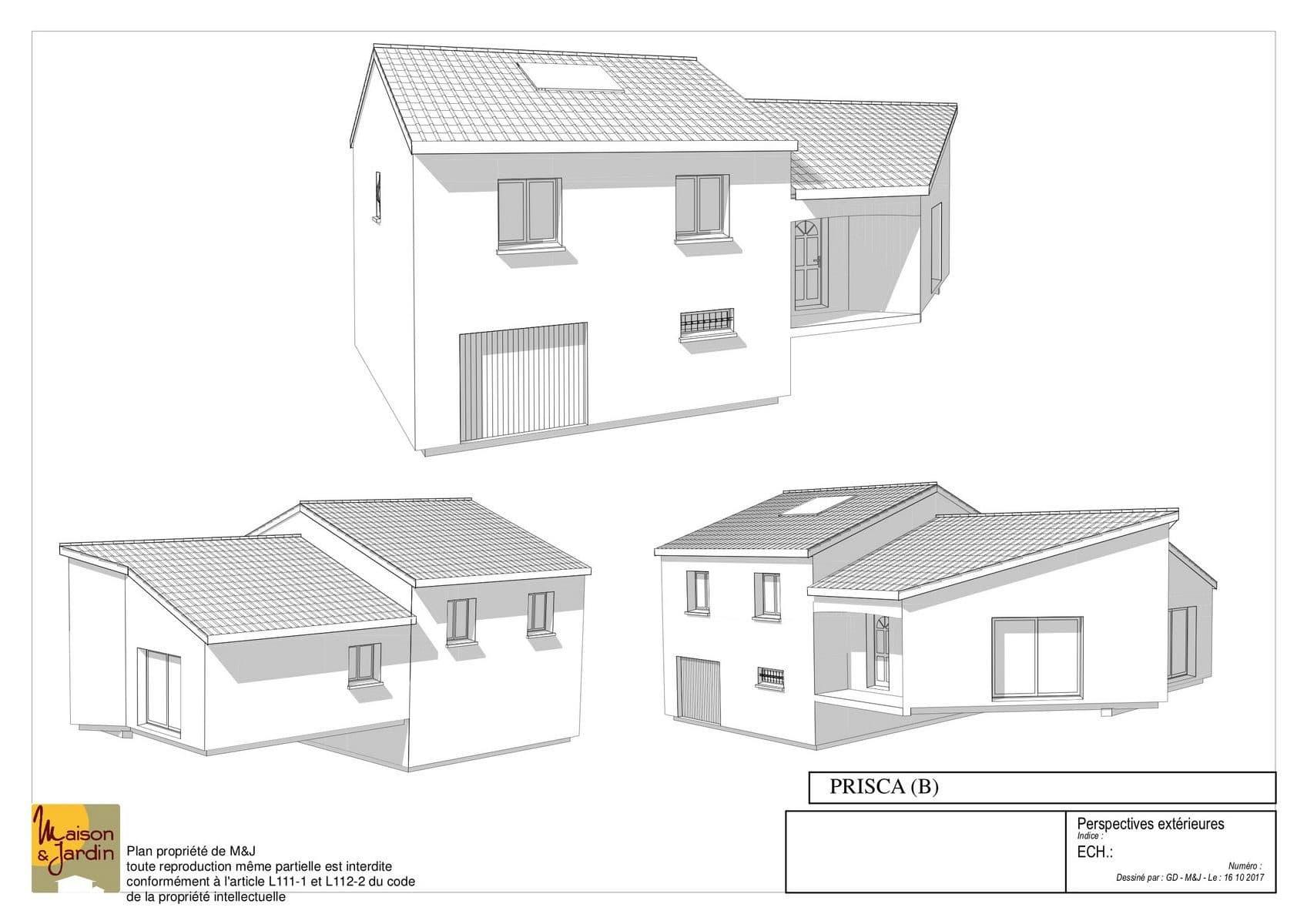 plan maison prisca113perspective