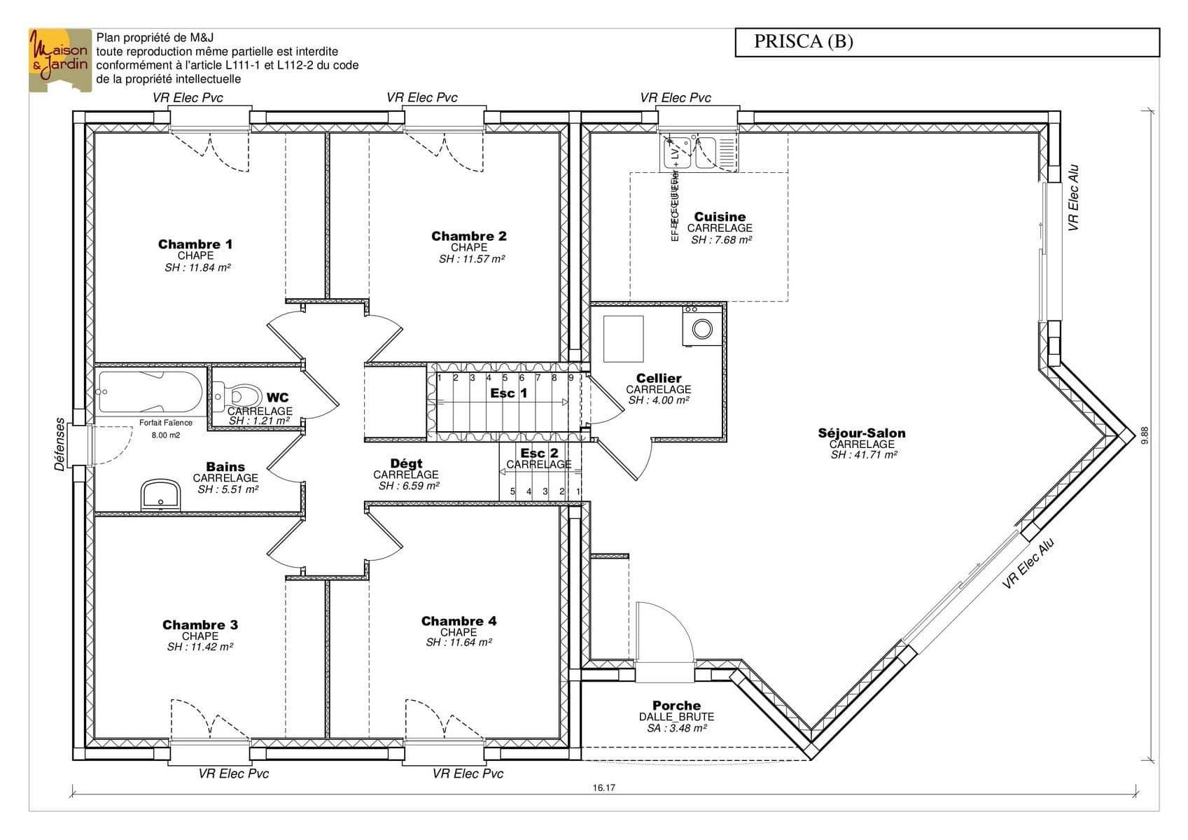 Plan Maison Verquinium
