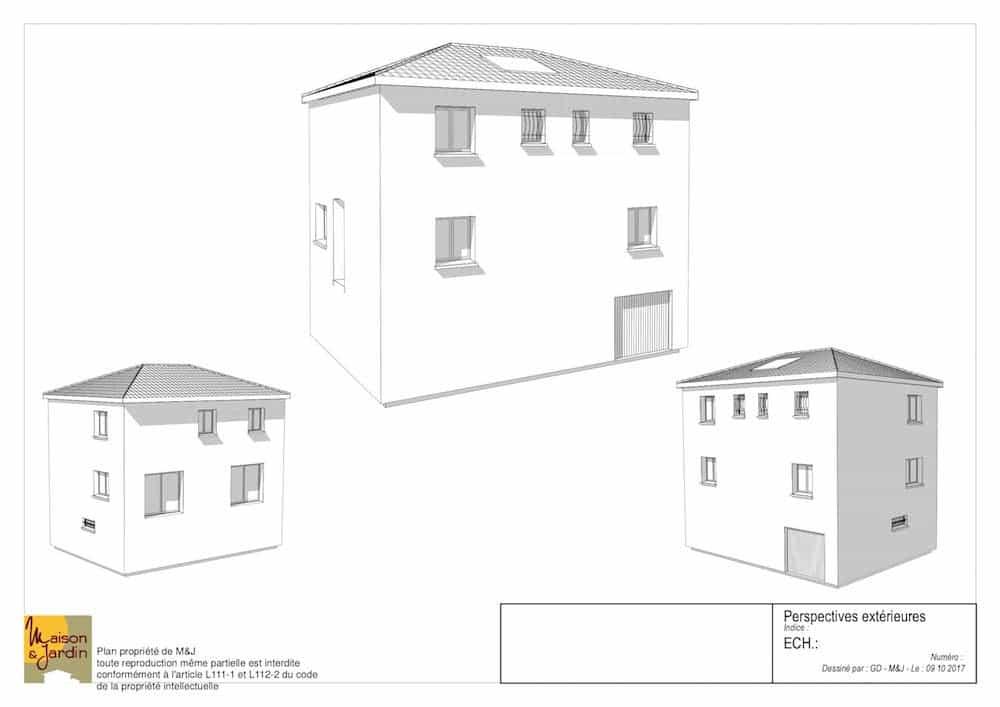 plan maison marina126perspective