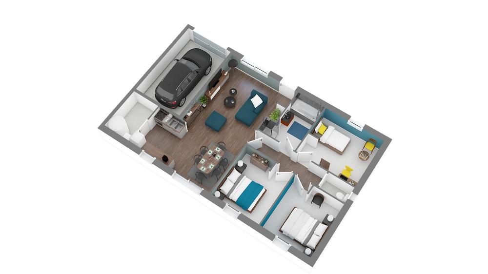Plan_Maison et Jardin Modele low cost Focus_80